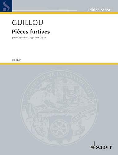 Pièces Furtives op. 58 - Jean Guillou - Partition - laflutedepan.com