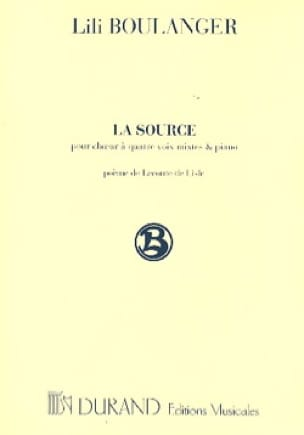 Lili Boulanger - Source - Partition - di-arezzo.com