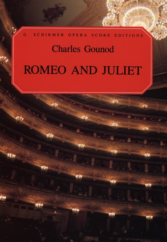 Charles Gounod - Romeo and Juliet - Partition - di-arezzo.co.uk