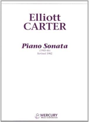 Elliott Carter - Sonata Piano - Partition - di-arezzo.es