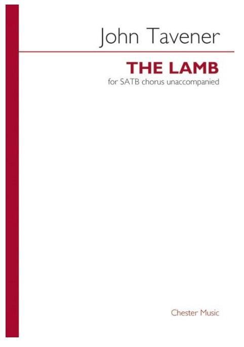 The Lamb - John Tavener - Partition - Chœur - laflutedepan.com
