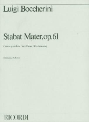 Stabat Mater, Opus 61. 2ème Version 1800 - laflutedepan.com