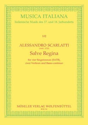 Alessandro Scarlatti - Salve Regina. Driver - Partition - di-arezzo.com