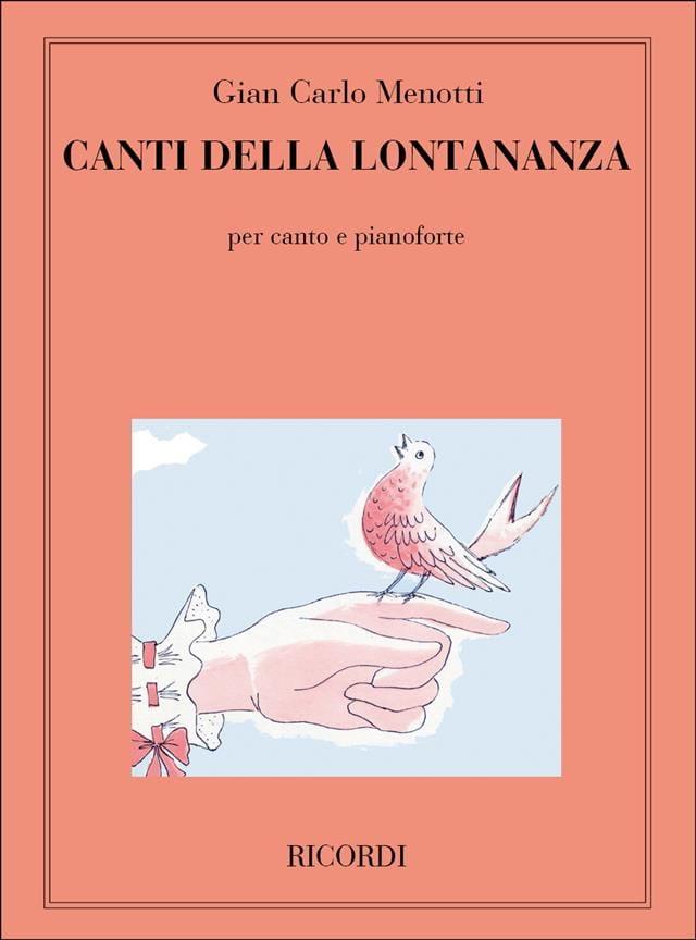 7 Canti Della Lontananza - Gian-Carlo Menotti - laflutedepan.com