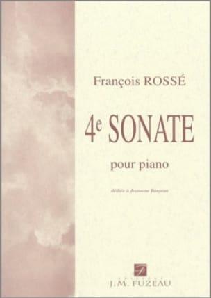 4ème Sonate - François Rossé - Partition - Piano - laflutedepan.com