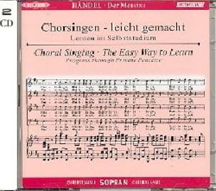 Messiah. CD Soprano - HAENDEL - Partition - Chœur - laflutedepan.com