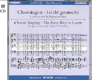 Messiah. CD Ténor - HAENDEL - Partition - Chœur - laflutedepan.com
