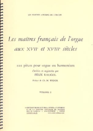 - The French Masters Of The Organ Volume 1 - Partition - di-arezzo.co.uk