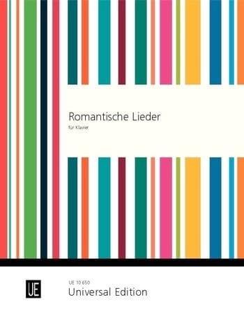 Romantische Lieder Am Klavier - Partition - laflutedepan.com