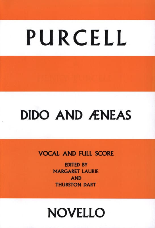 Henry Purcell - Dido and Aeneas - Partition - di-arezzo.com
