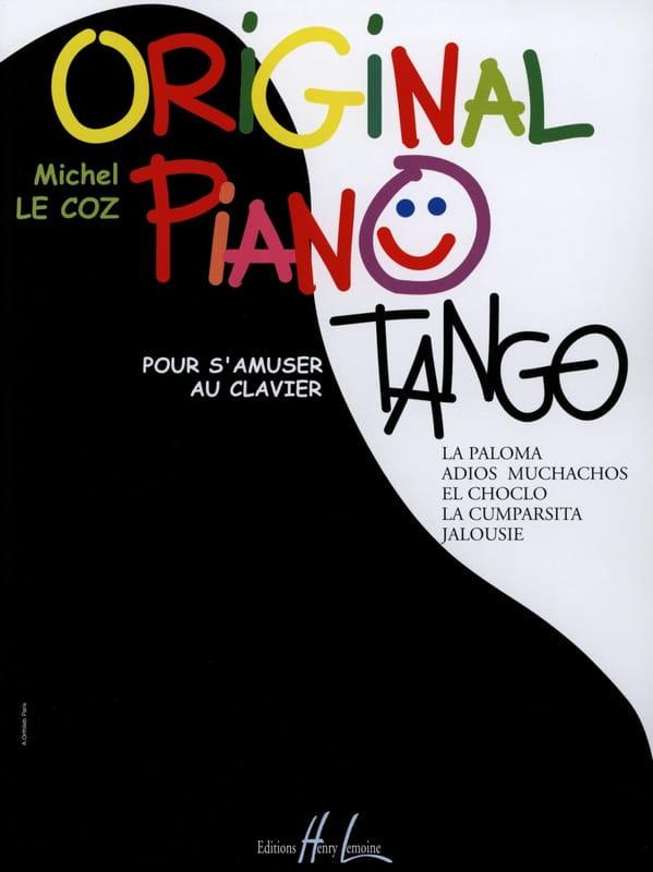 Michel LE COZ - Original Tangos de Piano - Partition - di-arezzo.es