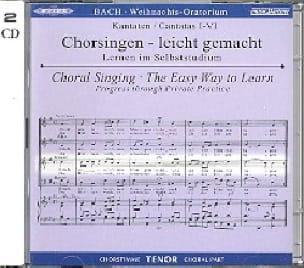 Oratorio de Noël 2 CD Ténor CHOEUR - BACH - laflutedepan.com