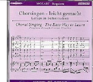 Requiem K 626. CD Alto - MOZART - Partition - Chœur - laflutedepan.com