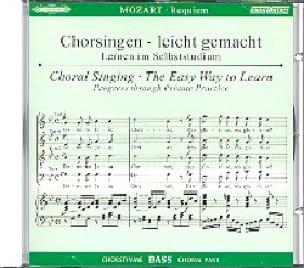 MOZART - Requiem K 626. Bass CD - Partition - di-arezzo.com