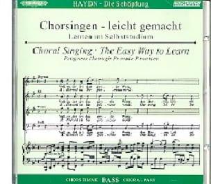 Die Schöpfung CD Basse - HAYDN - Partition - Chœur - laflutedepan.com