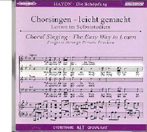 Die Schöpfung CD Alto - HAYDN - Partition - Chœur - laflutedepan.com
