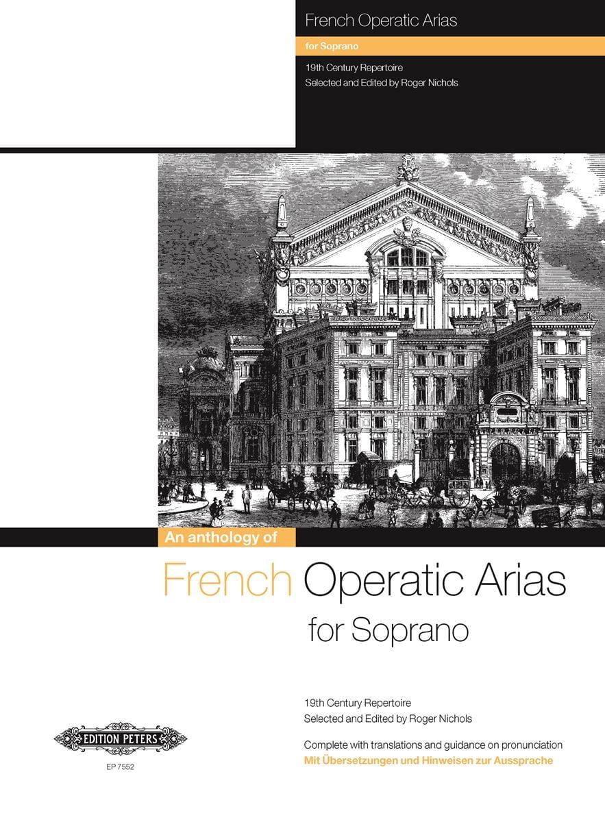 - French Operatic Arias Soprano - Partition - di-arezzo.com