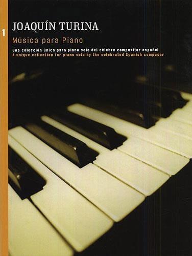 Musica Para Piano Vol 1 - TURINA - Partition - laflutedepan.com