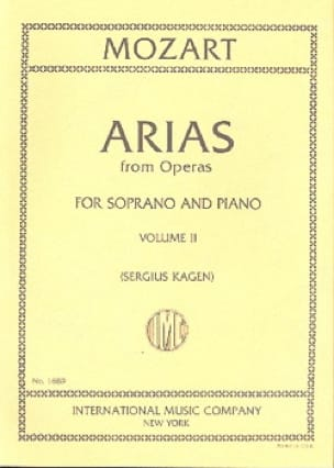 MOZART - 40 Arias from Operas Soprano Volume 2 - Partition - di-arezzo.com