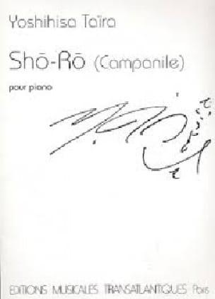 Sho-Ro Campanile - Yoshinisa Taïra - Partition - laflutedepan.com