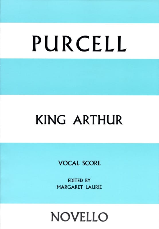 King Arthur - PURCELL - Partition - Opéras - laflutedepan.com