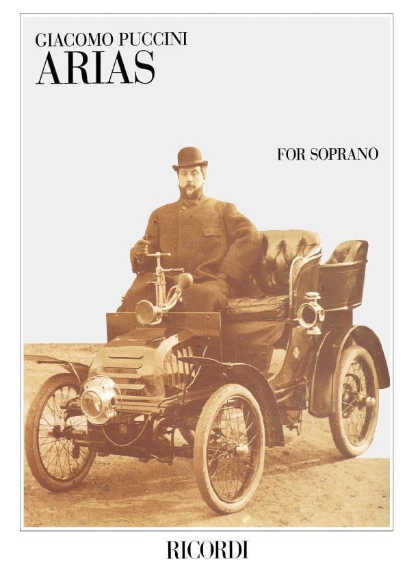 Giacomo Puccini - Arie Per Soprano - Partition - di-arezzo.co.uk