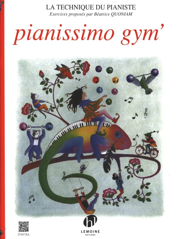 Béatrice Quoniam - Pianissimo Gym ' - Partition - di-arezzo.co.uk