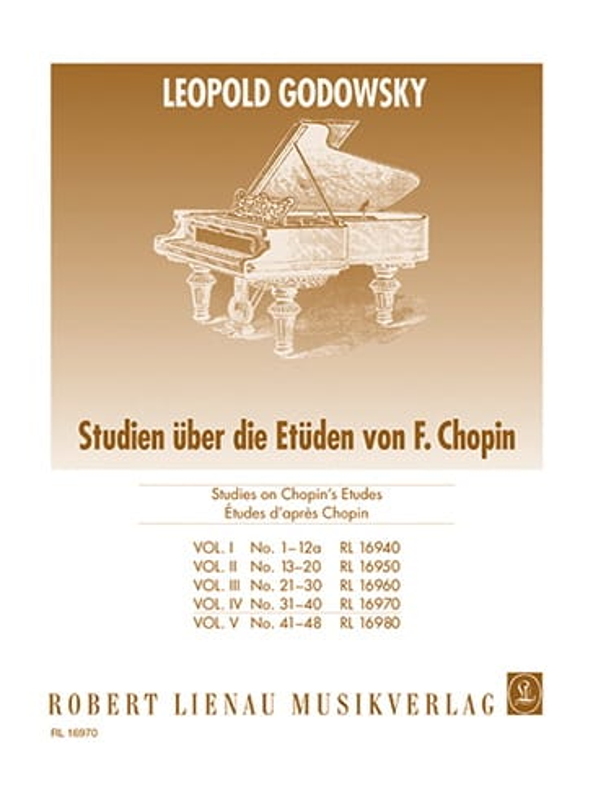Etudes D'aprés Chopin Volume 4 - GODOWSKY - laflutedepan.com