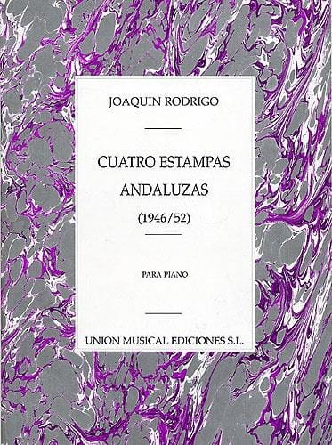 4 Estampas Andaluzas - RODRIGO - Partition - Piano - laflutedepan.com