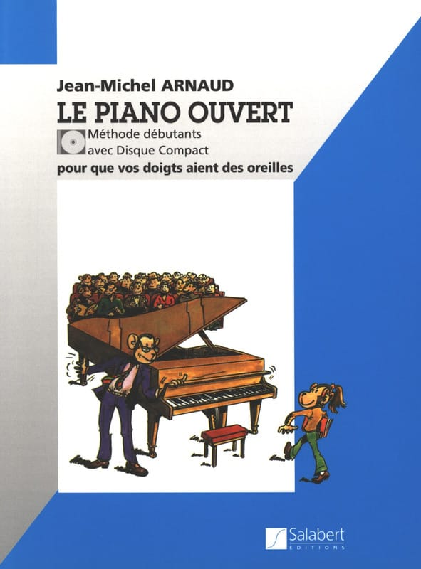 Jean-Michel Arnaud - The Open Piano - Partition - di-arezzo.co.uk