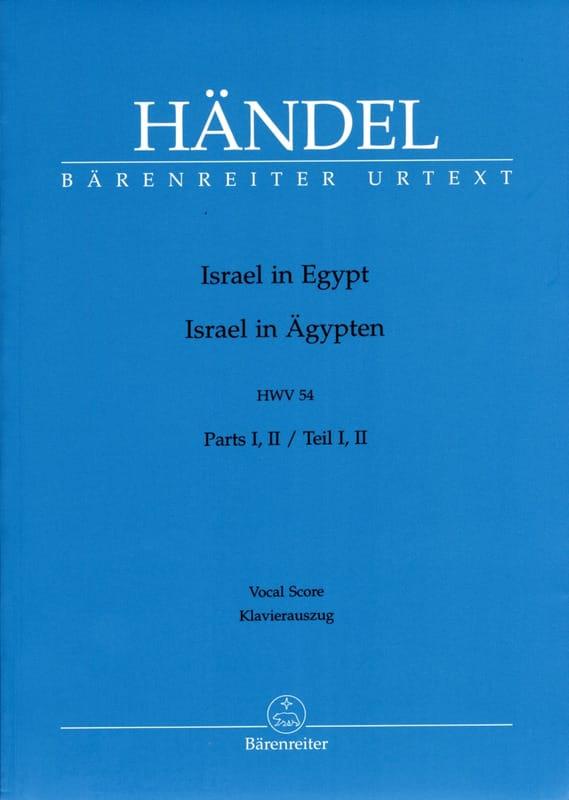 Israël En Egypte complet - HAENDEL - Partition - laflutedepan.com