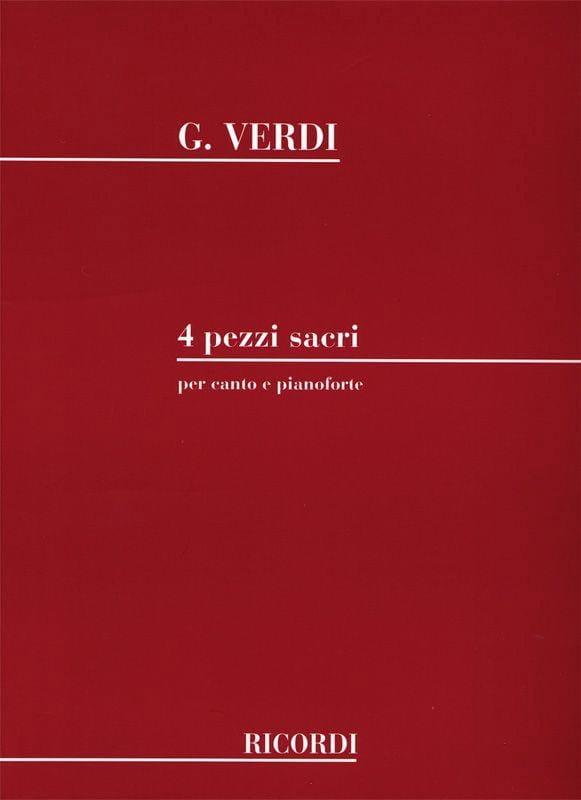 4 Pezzi Sacri - VERDI - Partition - Chœur - laflutedepan.com