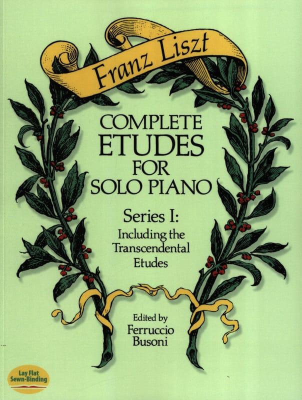 Complete Etudes For Solo Piano Volume 1 - LISZT - laflutedepan.com