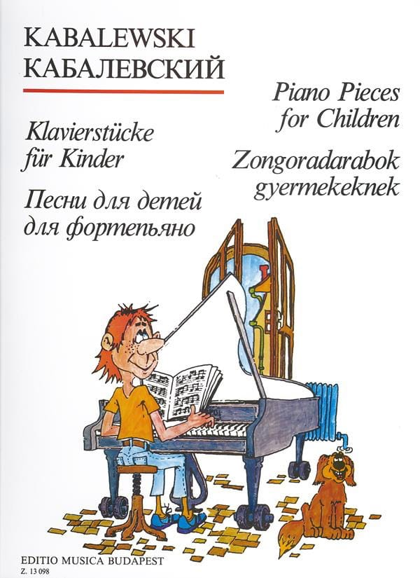 Dimitri Kabalevsky - Piano Pieces For Children. - Partition - di-arezzo.com