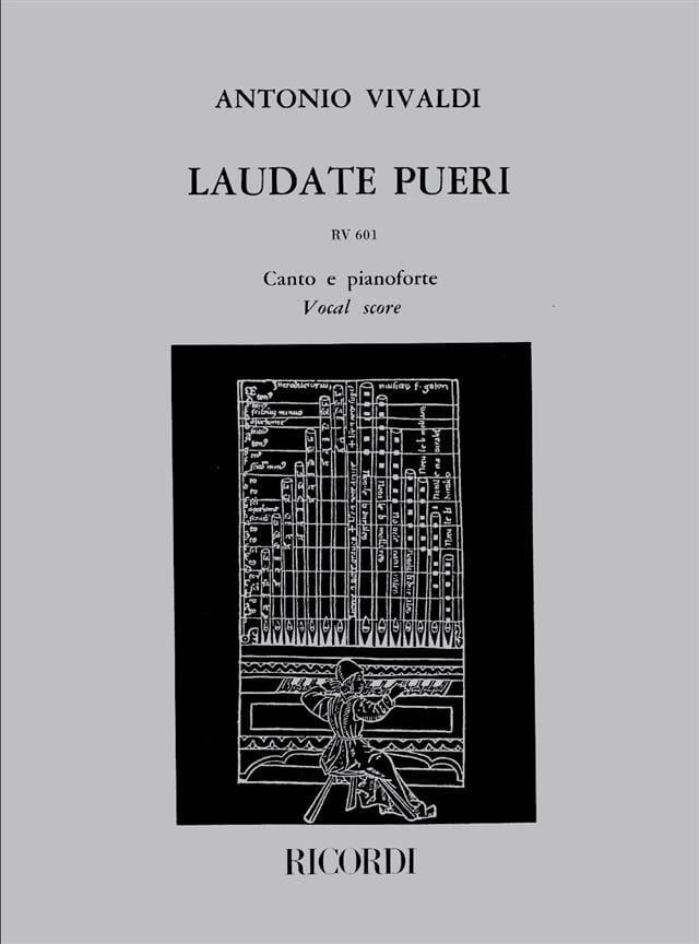 VIVALDI - Laudate Pueri RV 601 - Partition - di-arezzo.com