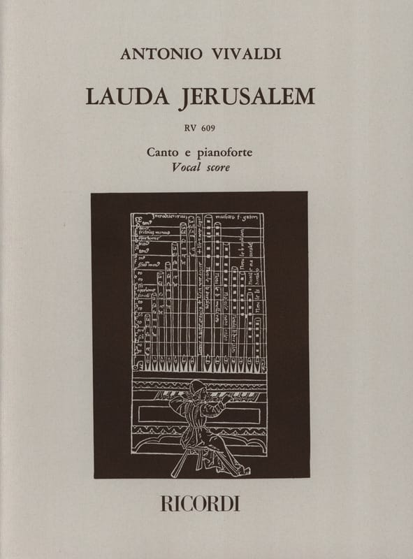 VIVALDI - Lauda Jerusalem - Partition - di-arezzo.co.uk