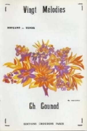 Charles Gounod - 20 Melodies Volume 4. High Voice - Partition - di-arezzo.co.uk