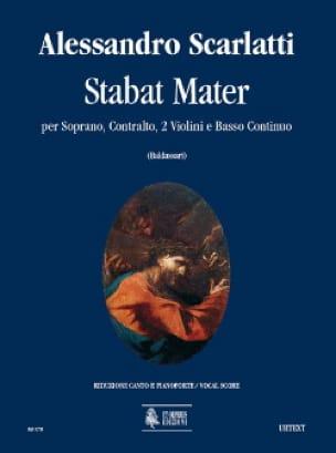 Stabat Mater - Alessandro Scarlatti - Partition - laflutedepan.com