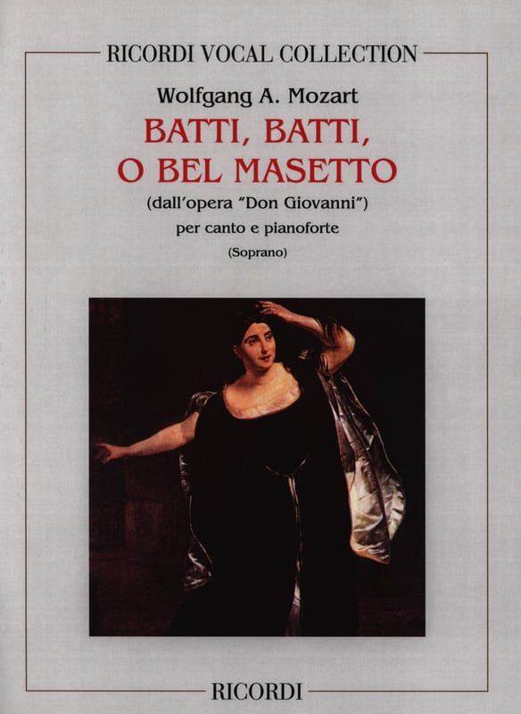 MOZART - Batti, Batti. Don Giovanni - Partition - di-arezzo.co.uk