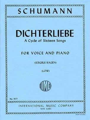 SCHUMANN - Dichterliebe Opus 48 Serious Voice - Partition - di-arezzo.co.uk