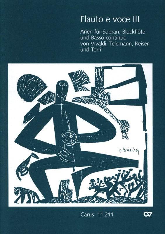 Flauto E Voce. Volume 3 - Partition - laflutedepan.com