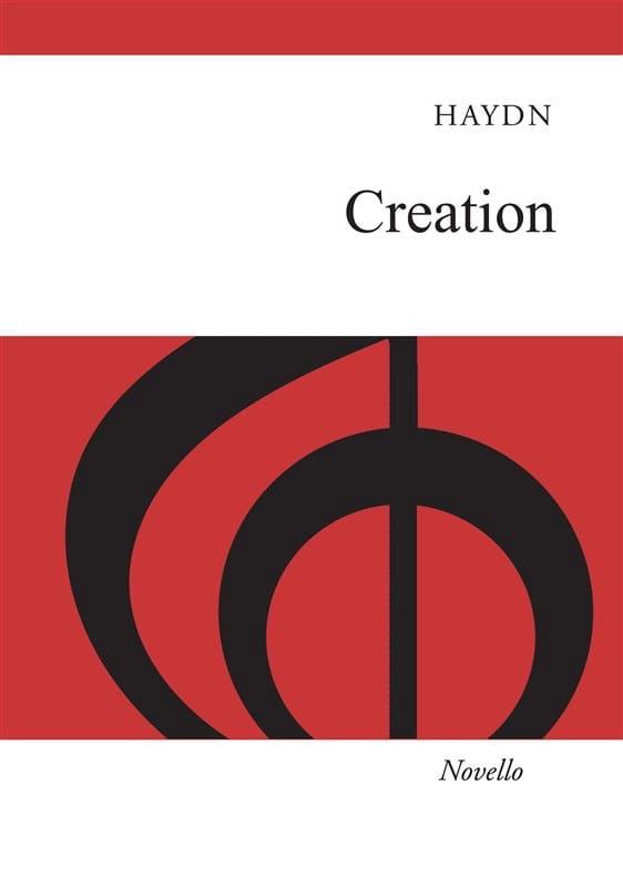 The Creation En Anglais - HAYDN - Partition - Chœur - laflutedepan.com