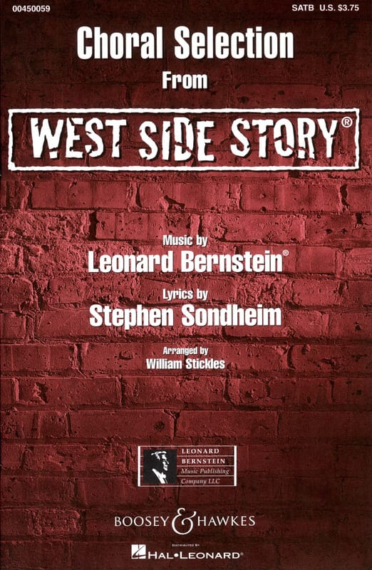 Leonard Bernstein - West Side Story Choral Selection - Partition - di-arezzo.co.uk