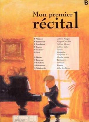 - My First Volume B Recital - Partition - di-arezzo.co.uk