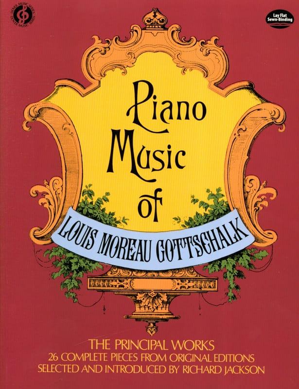 Piano Music - GOTTSCHALK - Partition - Piano - laflutedepan.com