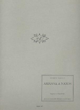 Arianna A Naxos - HAYDN - Partition - Mélodies - laflutedepan.com
