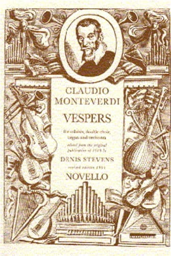Claudio Monteverdi - Vespers to the Virgin Mary - Partition - di-arezzo.co.uk