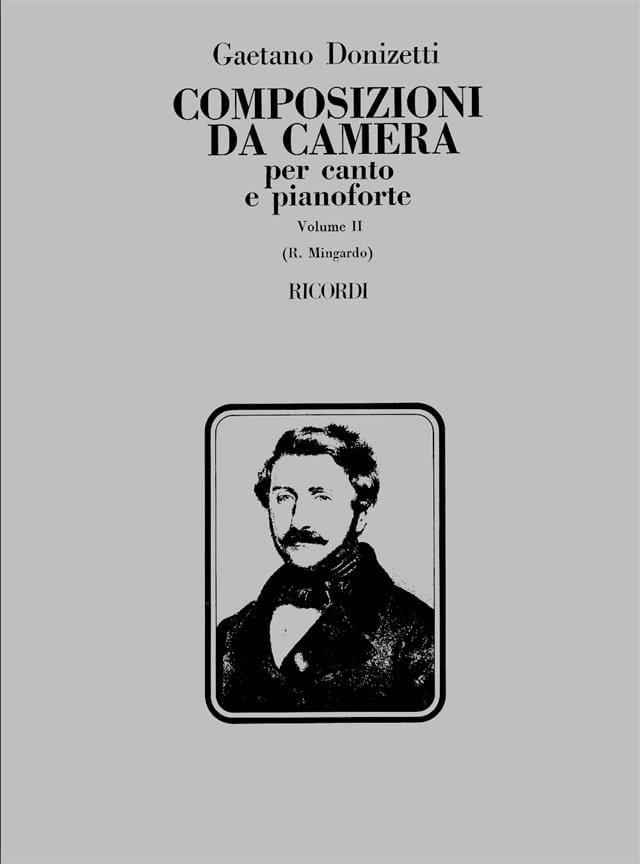 Gaetano Donizetti - Composizioni Da Camera. Volumen 2 - Partition - di-arezzo.es