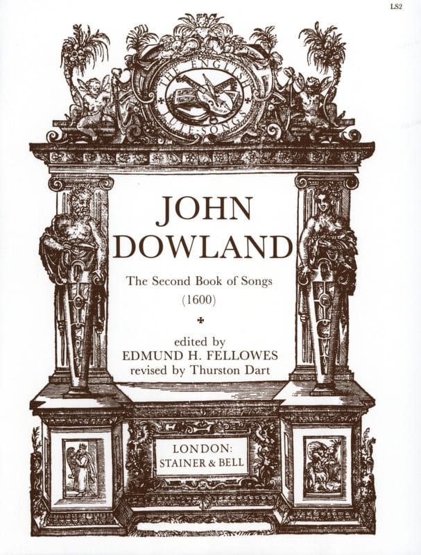 John Dowland - The 2nd Book Of Songs - Partition - di-arezzo.com