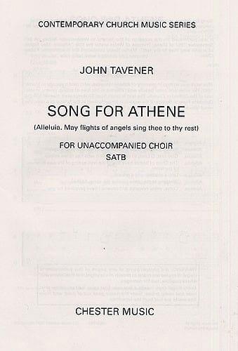 John Tavener - Canción para Athene - Partition - di-arezzo.es